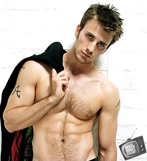 Chris Evans Naked